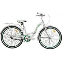 "Велосипед VNC 24"" Beverly AC, 24-BEAC-28-WG, 28см white/green"