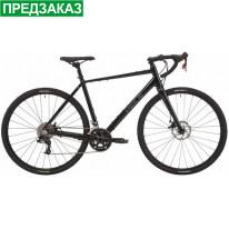 "Велосипед гравійник 28"" Pride RoCX 8.3 (2021) black/grey"