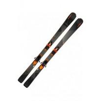 Лижи Elan Amphibio 12 TI PS ELX11.0, Black/Grey, р. 168 cm (ELN ABJDZQ18-168)