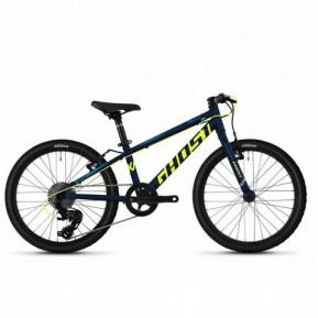"Велосипед детский 20"" Ghost Kato R1.0 , сине-желтый, 2020 Фото №1"