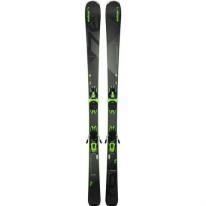 Лыжи Elan Amphibio 76 PS EL10.0, Black/Green, р. 168 см (ELN ABGEEF18.168)