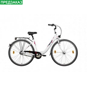 "Велосипед  28"" Gratia 28 Nexus 3 Weiss by Sachsenring (Mifa) Фото №1"