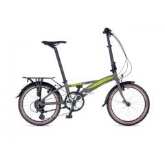 """Складной велосипед 20"""" AUTHOR Simplex (серый) - 2021"""