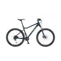 """Велосипед 27,5 """" KTM ULTRA FUN рама S - 2021 черно-серый"""