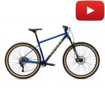 "Велосипед  сталевий (хромолевий) 29"" Marin Pine Mountain 1 2021  blue рама XL"