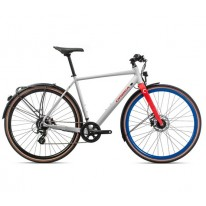 "Велосипед 28"" Orbea CARPE 25  White-Red 2020"