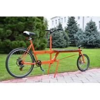 Вантажний велосипед TUbicycle із верхньою  платформою