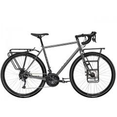 """Туринговый велосипед 28"""" Trek  520 Disc Cr-Mo 2020 серый"""