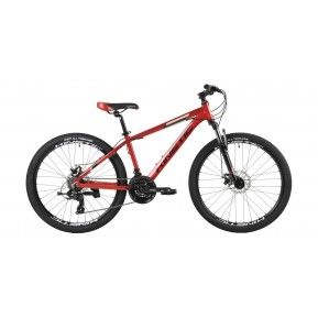 "Велосипед подростковый 26"" KINETIC PROFI 26 2021 red Фото №1"