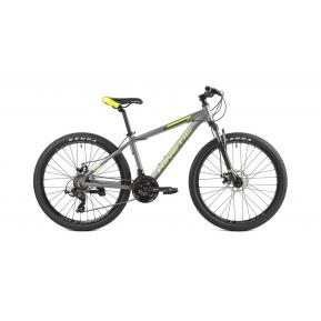 "Велосипед подростковый 26"" KINETIC PROFI 26 2021 grey Фото №1"