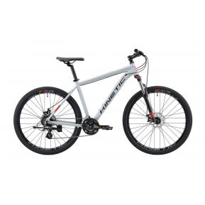 """Велосипед горный 27.5"""" KINETIC Crystal 2021 grey Фото №1"""
