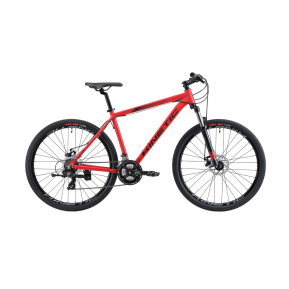 """Велосипед горный 27.5"""" KINETIC Storm 2022 red Фото №1"""