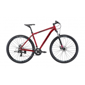 """Велосипед горный 29"""" KINETIC Storm 2021 red Фото №1"""