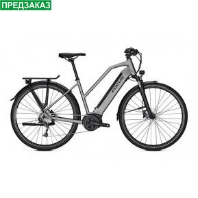 """Электровелосипед 28"""" Focus Bikes Planet2 5.9 2021 Men Toronto Grey Фото №1"""