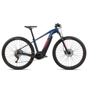 "Электровелосипед 29"" Orbea 29 Keram 10 2021 navy blue - red Фото №1"
