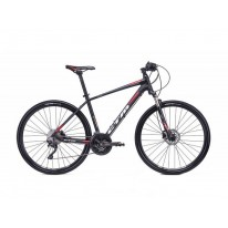 Велосипед гибрид  28'' CTM Stark 2.0 (matt black/red)