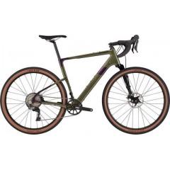 "Велосипед грэвел 27.5"" Cannondale TOPSTONE Carbon Lefty 3 2021 green"