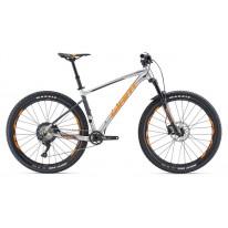 """Велосипед 27,5+"""" Giant Fathom 1 серебро- 2019"""