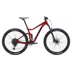 "Велосипед 29"" Giant Stance 2 Matte Gunmetal Red - 2020"