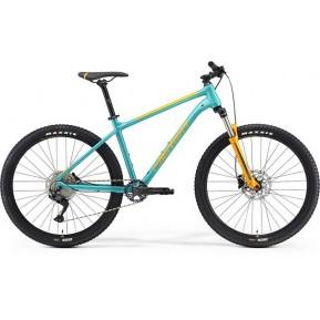 "Велосипед 27,5"" Merida BIG.SEVEN 200 (teal blue-orange) 2021 Фото №1"