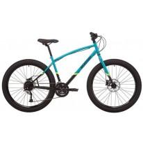 """Городской велосипед 27.5"""" Pride Rocksteady 7.2 черно-синий 2020"""