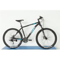 """Велосипед горный 27.5"""" Trinx M136 Elite 2021 Matt-Black-Grey-Blue"""