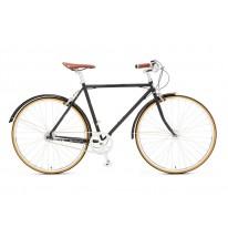 """Городской велосипед 28"""" Chappelli Vintage Randonneur Classic 2016 black"""