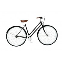"Городской велосипед 28"" Chappelli Women's Classic Vintage black"