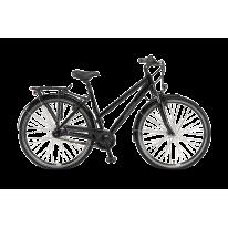 """Городской велосипед 28"""" Winora Holiday N7 черный 2020 Германия"""