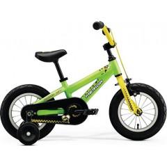 Велосипед детский Merida MATTS J12 matt green (yellow bee)