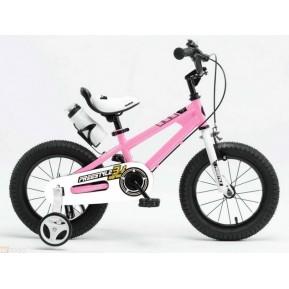 "Велосипед RoyalBaby FREESTYLE 16"", розовый Фото №1"