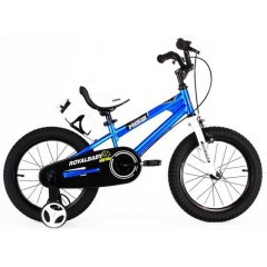 "Велосипед детский 12"" RoyalBaby FREESTYLE, синий"