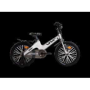 """Велосипед детский 18"""" VNC Magneo 18 2021 grey-blue Фото №1"""