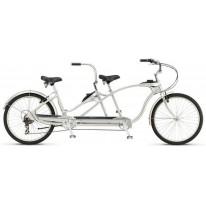 """Велосипед тандем 26"""" Schwinn Tango Tandem 2017 silver"""