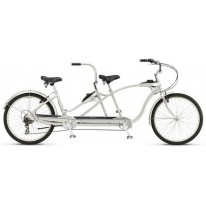 "Велосипед тандем 26"" Schwinn Tango Tandem серый 2020"