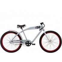"Городской велосипед 26""  Felt Cruiser Little Bastard 18"" spider silver"