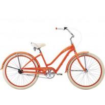 """Городской велосипед Felt Cruiser Claire 26"""" tangerine 3 скорости"""
