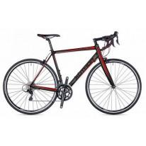 """Adventure велосипед AUTHOR (2018) Aura 44 28"""", цвет-чёрный (красный) // черный, рама 54 см"""