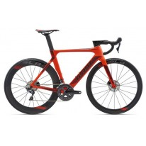 Велосипед Giant Propel Advanced Disc неон красн. - 2018