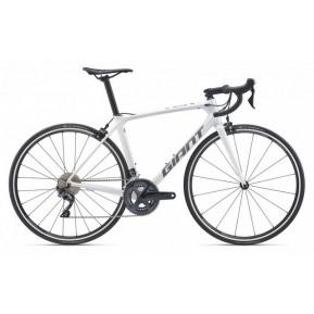 "Велосипед 28"" Giant TCR Advanced 1 King of Mountain 2020 white Фото №1"