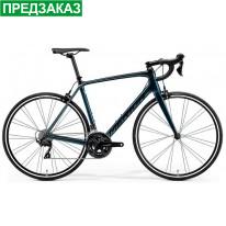 "Велосипед шосейний  28"" Merida Scultura 4000 Black/Teal-Blue 2021"