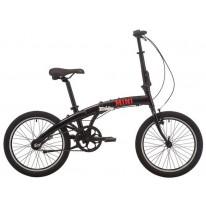 Велосипед 20'' Pride MINI 3 черный/ярко-красный 2019