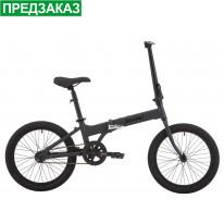 """Велосипед 20"""" Pride MINI 1 темно-серый/черный 2019"""