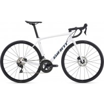 "Велосипед шосейний 28"" Giant TCR Advanced 2 Disc SE White 2021"