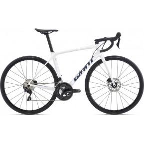 "Велосипед шоссейный 28"" Giant TCR Advanced 2 Disc SE White 2021 Фото №1"