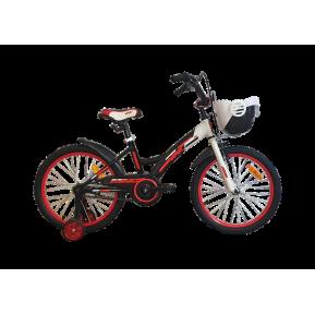 "Велосипед детский 16"" VNC Wave 16 2021 black-red Фото №1"
