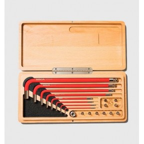 Набор инструментов Silca HX- One home Essential tool drive kit in wood box Фото №1