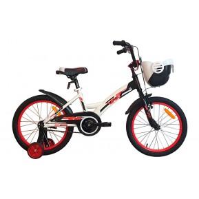"Велосипед детский 18"" VNC Wave 18 2021 white-red Фото №1"