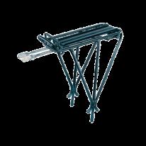 Багажник задн. Topeak Explorer Tubular Rack до серії MTX з/пруж., алюм.труби, чорн., 620г