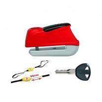 Мотозамок ABUS 345 Trigger Alarm red